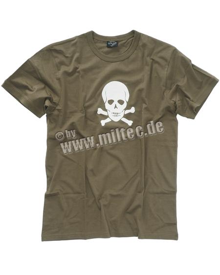 Sturm Mil-Tec T-Shirt Totenkopf, Small